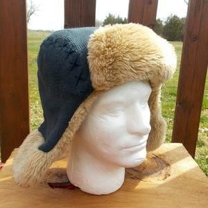 Life is Good Mens Trapper Aviator Hat ONE SIZE
